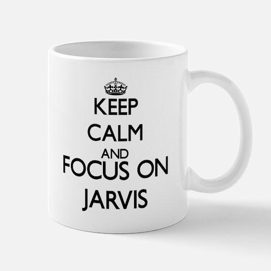 Keep Calm and Focus on Jarvis Mugs