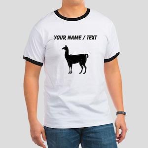Llama Silhouette (Custom) T-Shirt