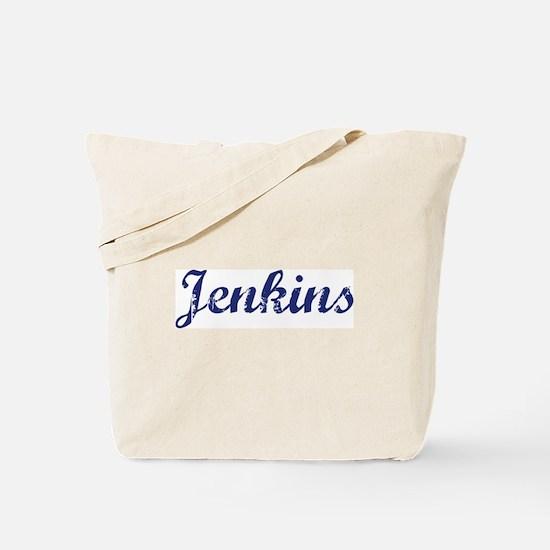 Jenkins - vintage (blue) Tote Bag