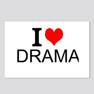 I Love Drama Postcards (Package of 8)