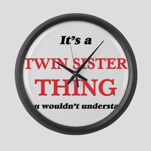 It's a Twin Sister thing, you Large Wall Clock