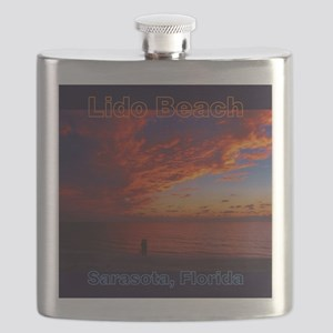 Lido Beach Florida Flask