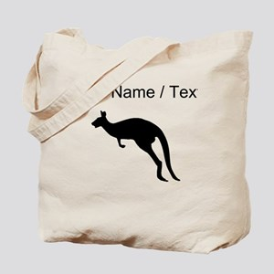 Kangaroo Silhouette (Custom) Tote Bag