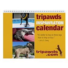 Tripawds Wall Calendar #9 - New For 2015