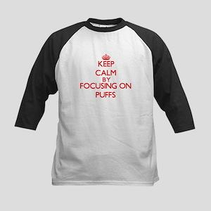 Keep Calm by focusing on Puffs Baseball Jersey