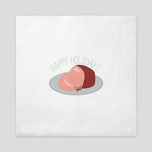 Holiday Ham Queen Duvet