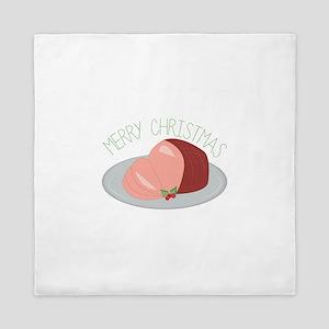 Christmas Ham Queen Duvet