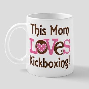 Mom Loves Kickboxing Mug