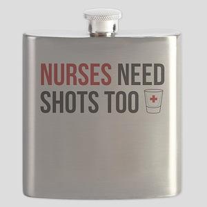 Nurses Need Shots Too! Flask
