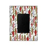 Pacific Salmon pattern Picture Frame