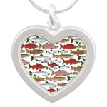 Pacific Salmon pattern Necklaces