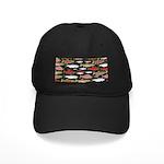 Pacific Salmon pattern Baseball Hat