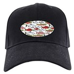 Pacific Salmon pattern Baseball Hat