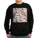 Pacific Salmon pattern Sweatshirt