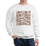 Pacific Salmon pattern Sweatshirt