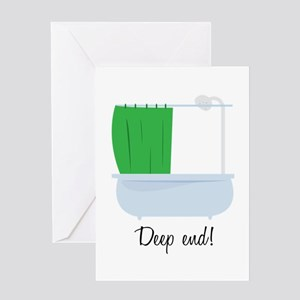 Deep End Greeting Cards