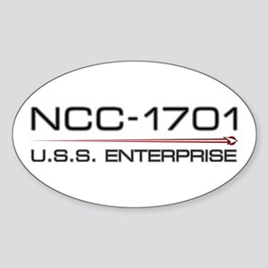 USS Enterprise 2009 Dark Sticker
