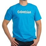 Colombian Men's Fitted T-Shirt (dark)
