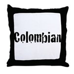 Colombian Throw Pillow