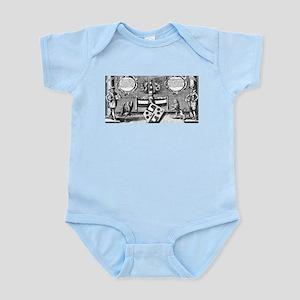Alchemical Cabala Etching Infant Bodysuit