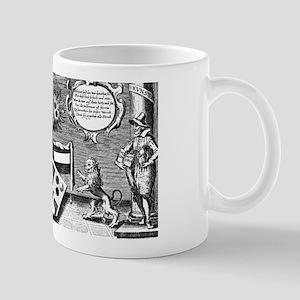 Alchemical Cabala Etching Mug