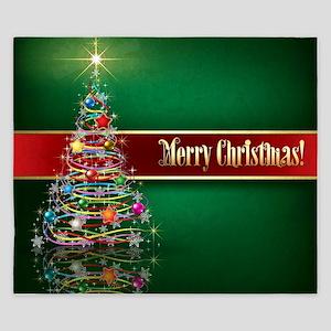Merry Christmas King Duvet