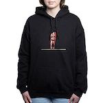 Dont Go Bacon My Heart Women's Hooded Sweatshirt
