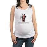 Dont Go Bacon My Heart Maternity Tank Top