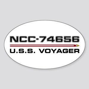USS Voyager Dark Sticker