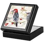 Woodpeckers in the Snow Keepsake Box