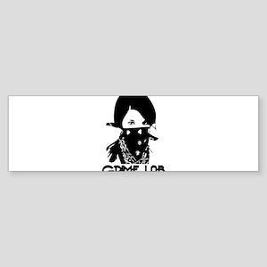 Bandana girl Bumper Sticker