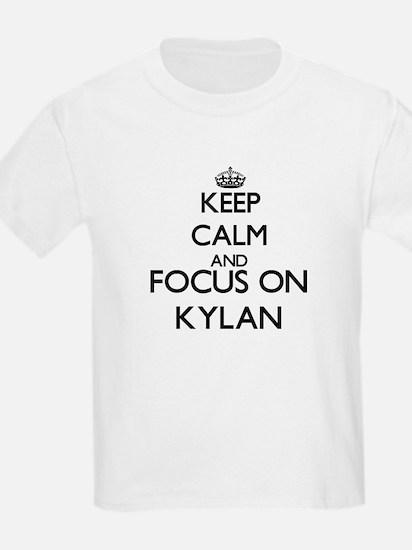Keep Calm and Focus on Kylan T-Shirt