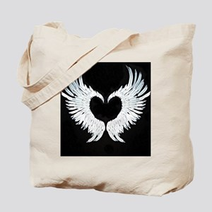 Angelwings heart Tote Bag