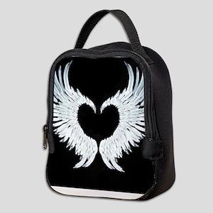 Angelwings heart Neoprene Lunch Bag
