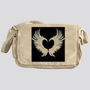 Angelwings heart Messenger Bag