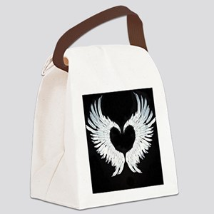 Angelwings heart Canvas Lunch Bag