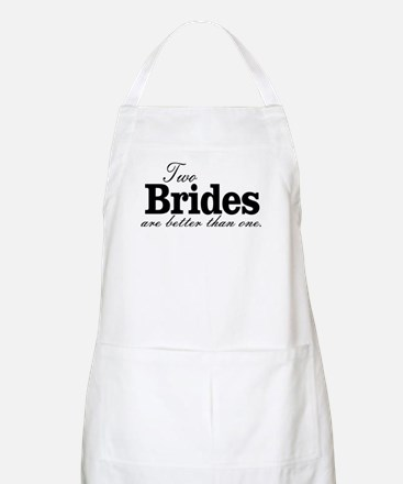 TWO BRIDES ARE BETTER THAN ONE. LESBIAN WEDDING. A
