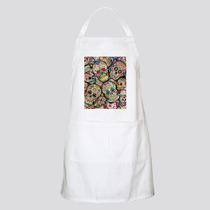Sugar Skull Collage Apron