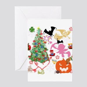 All Seasons Greeting Cards