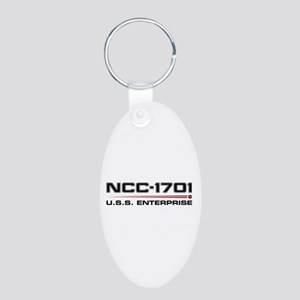 USS Enterprise Refit Dark Keychains