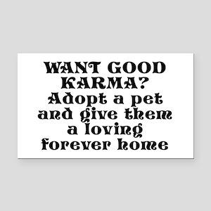 Adopt a pet - Rectangle Car Magnet