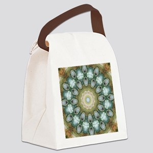 Ascension Art Mandala Canvas Lunch Bag