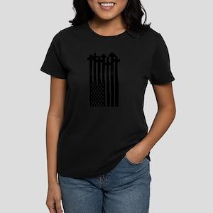 American Flag Crosses T-Shirt