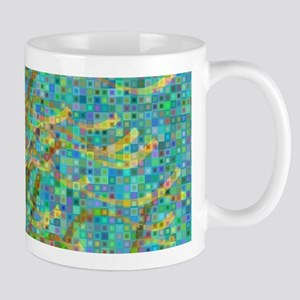 Algae mosaic Mugs
