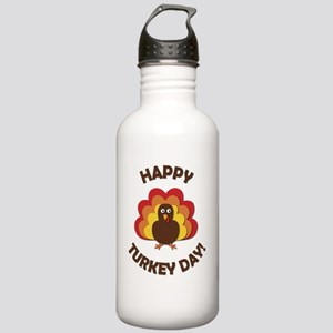 Happy Turkey Day! Stainless Water Bottle 1.0L
