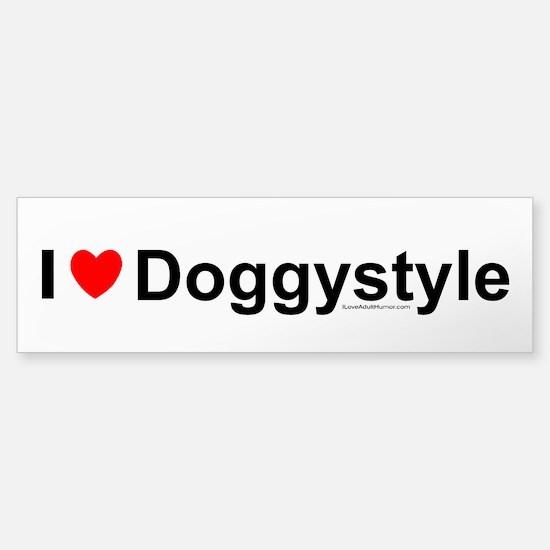 Doggystyle Sticker (Bumper)