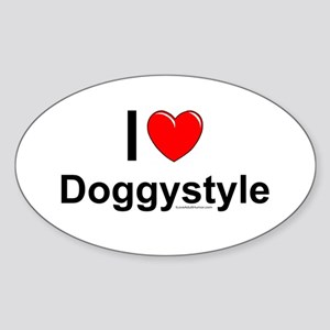 Doggystyle Sticker (Oval)