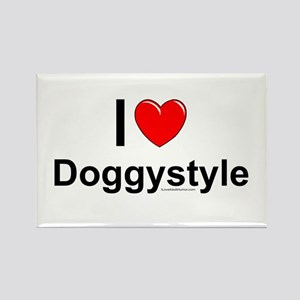 Doggystyle Rectangle Magnet