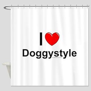 Doggystyle Shower Curtain