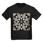 Forbidden Love Art Mandala Kids Dark T-Shirt